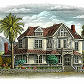 Steven Noble - Agriculture, Architecture, Beverage, Cityscape, Engraving, Historical, Horticulture, Landscape, Woodcut