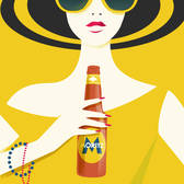 Pietari Posti - Advertising, Beverage/Alcohol, Cultural, Digital, Graphic, Holiday, People, Silhouette, Stylized, Travel, Travel/Transportation, Vector Art