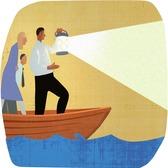 Mick Wiggins - Boat, Businessmen, Businesswomen, Consultant, Expert, Guide, Lamp, Navigation, Visionary